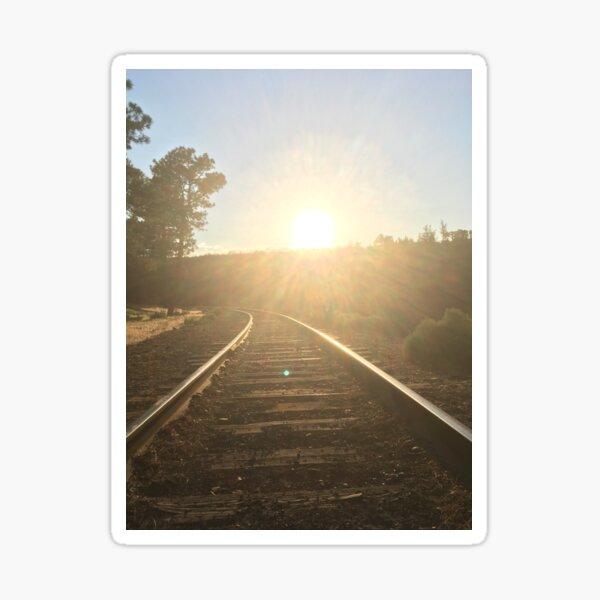 railroad Sticker