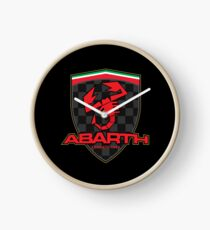 Abarth Shield Clock