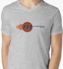 Momentum Sports Logo  V-Neck T-Shirt