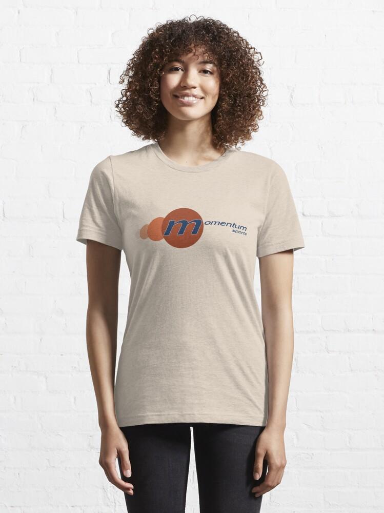 Alternate view of Momentum Sports Logo  Essential T-Shirt