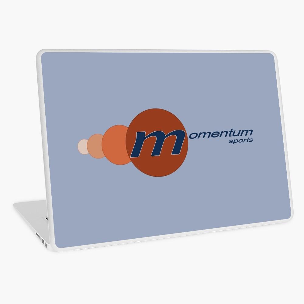 Momentum Sports Logo  Laptop Skin