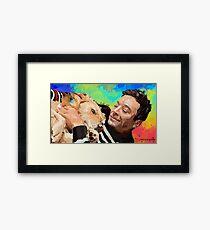 Jimmy Fallon Fanart Framed Print