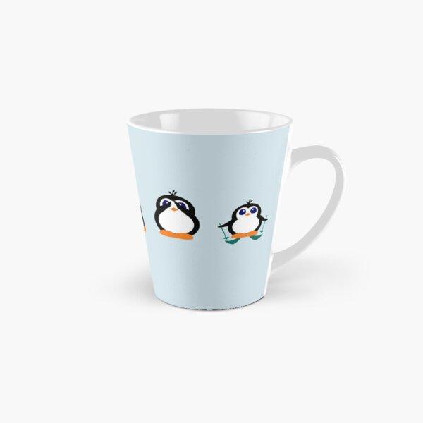 Cute Penguin Fun Cartoon Group Tall Mug