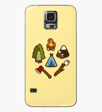 Camping is cool Case/Skin for Samsung Galaxy