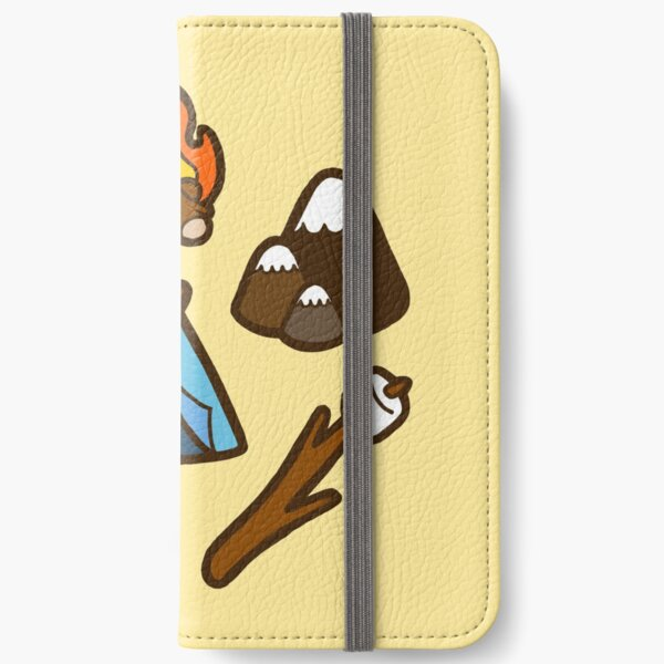 Camping is cool iPhone Wallet