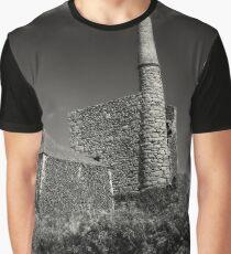 Cornish Tin Mine. Graphic T-Shirt