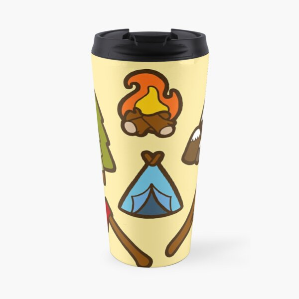 Camping is cool Travel Mug