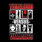 Time versus Villains by Ameda