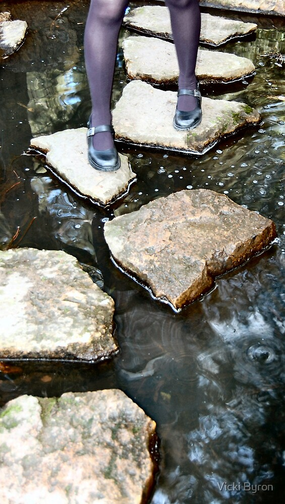 Stepping Stones by Vicki Byron