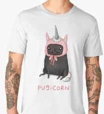 Pugicorn Men's Premium T-Shirt