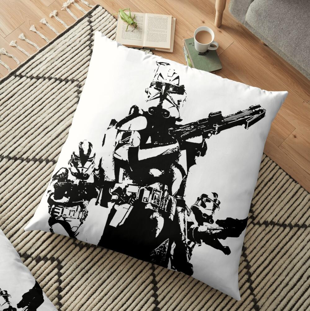 501st Trooper Silk Screen Floor Pillow