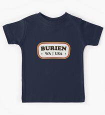 Burien | Retro Badge Kids Clothes