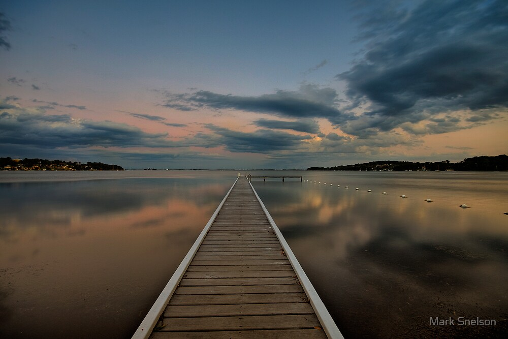 Acadia Vale Jetty by Mark Snelson