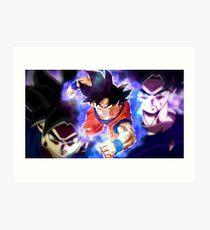 Son Goku Ultra Instinto Art Print