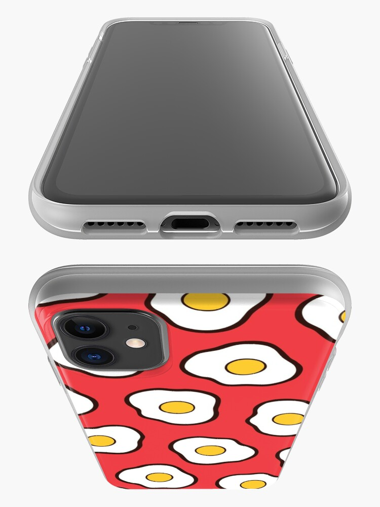 Alternate view of Fried Eggs Pattern iPhone Case & Cover