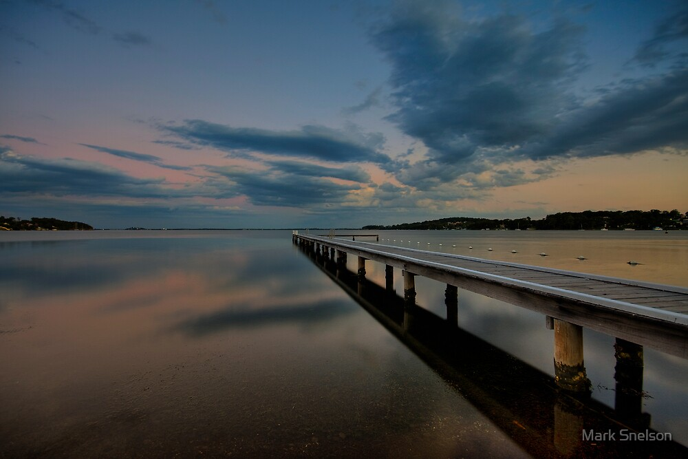 Acadia Vale Jetty at Dusk by Mark Snelson