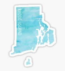 Rhode Island Blue Watercolor Sticker