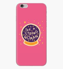 I see a strong woman iPhone Case