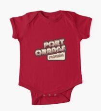 Port Orange, Florida | Retro Halftone Kids Clothes