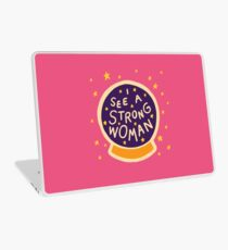 I see a strong woman Laptop Skin