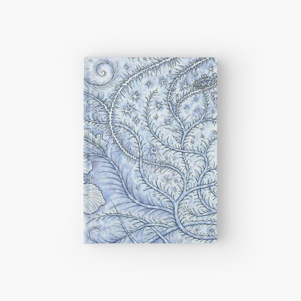 Happy Frosty Holidays! Hardcover Journal