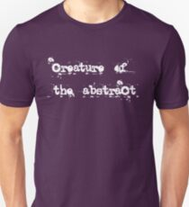 Creature of the Abstract Unisex T-Shirt