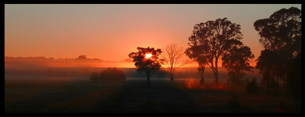 Winter Sunrise by CandA