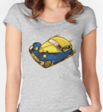 Fast Car number 9 Women's Fitted Scoop T-Shirt