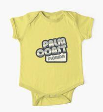 Palm Coast, Florida | Retro Halftone Kids Clothes