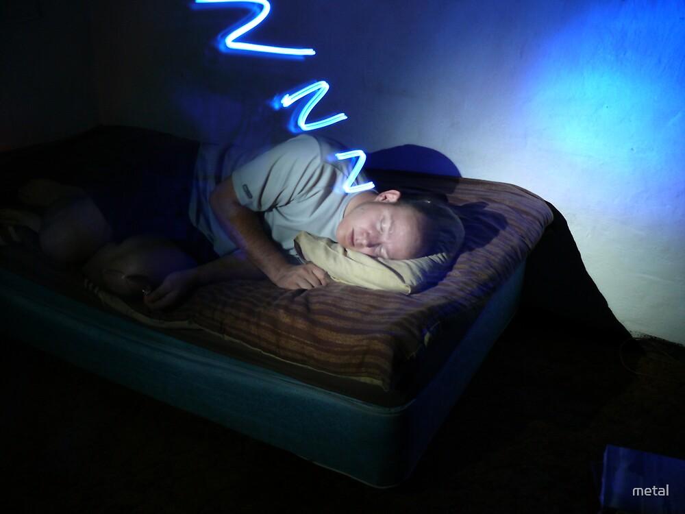 snoring... by metal