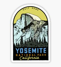 Yosemite National Park USA Sticker