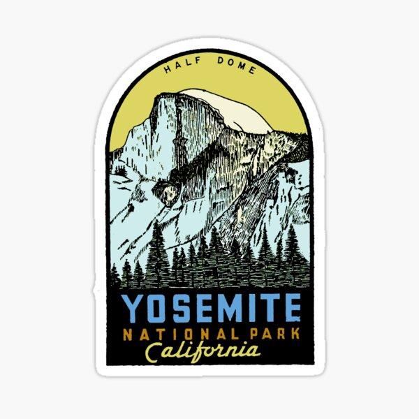 Yosemite National Park USA Sticker