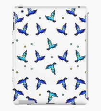 blue jays swirling iPad Case/Skin