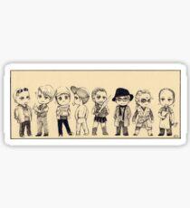 Mads Chibis Sticker