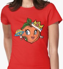 The Crown Peach Women's Fitted T-Shirt