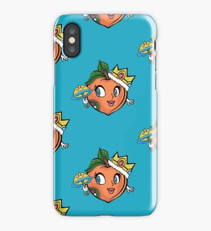The Crown Peach iPhone Case