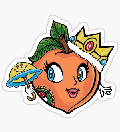 The Crown Peach Sticker