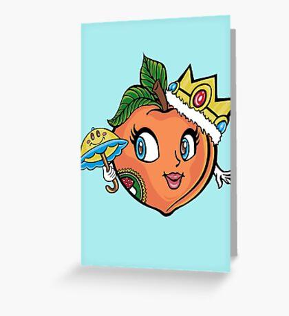 The Crown Peach Greeting Card