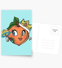 The Crown Peach Postcards