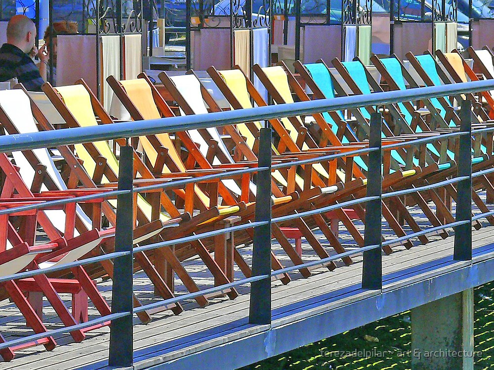 chairs with a view by terezadelpilar ~ art & architecture