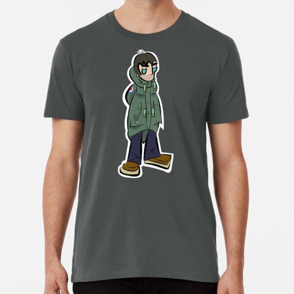 LG - Parka Monkees - Cartoon (Khaki Parka) Premium T-Shirt