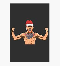 Christmas Conor McGregor Photographic Print