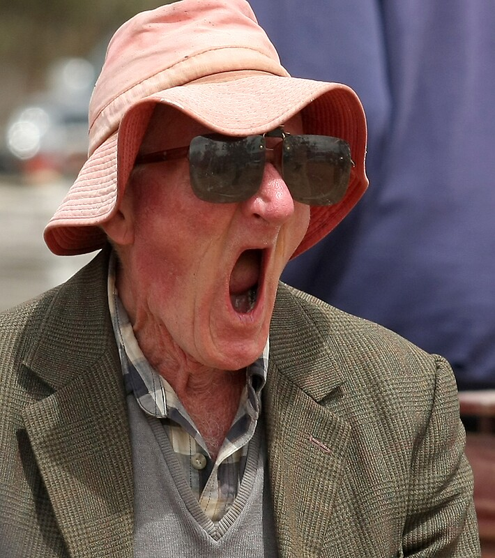 Quot Old Man Yawning 2 Quot By Annie Austin Redbubble