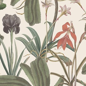 Botanical Stravaganza (Pillow variant) by ikerpazstudio