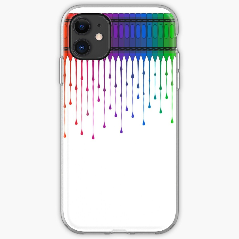 Melting Crayons iPhone Case & Cover