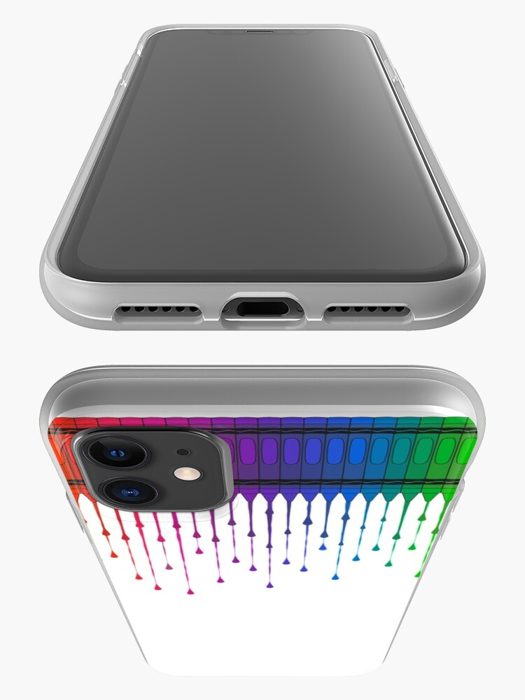 Alternate view of Melting Crayons iPhone Case & Cover