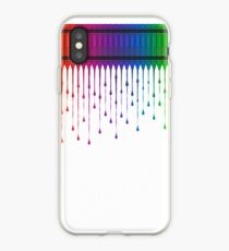 Melting Crayons iPhone Case