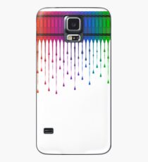 Melting Crayons Case/Skin for Samsung Galaxy