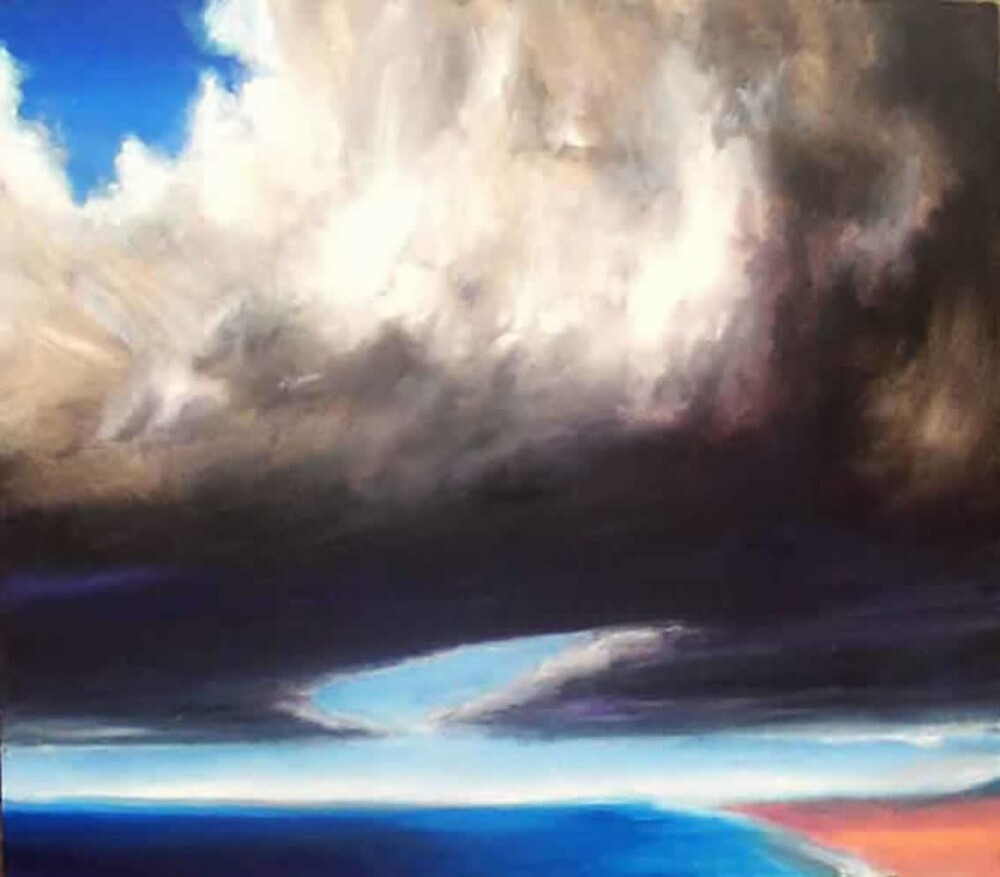 Now and that other now, then (oils) by Paul Douglas Robertson