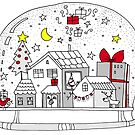 magic snow globe by kulawiecka